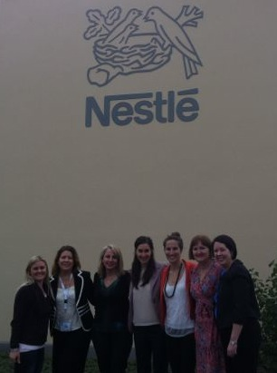 Nestle group shot